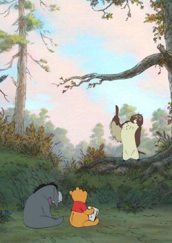 Una scena del lungometraggio animato Winnie the Pooh