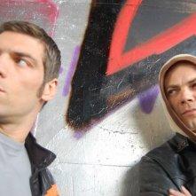 Damir Todorovic e Clemente Russo in una scena del film TATANKA