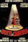 Locandina de Le notti di Cabiria di Fellini