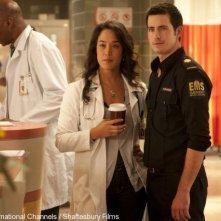 Craig Olejnik e Mylene Robic in una scena della stagione 2 di The Listener