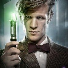 Matt Smith in un'immagine promozionale della stagione 6 di Doctor Who