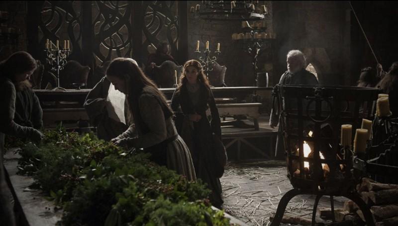 Un'immagine dall'episodio Winter Is Coming di Game of Thrones