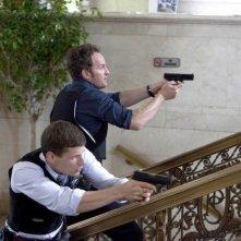 Jason Clarke e Matt Lauria nell'episodio Gillis, Chase & Babyface di The Chicago Code