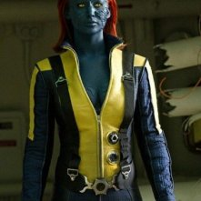 Un'immagine di Jennifer Lawrence nei panni di Mystica in X-Men: l'inizio