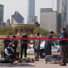 Un momento del pilot di The Chicago Code