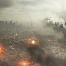 Una scena del fantascientifico World Invasion, del 2011