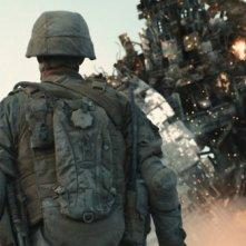 Una sequenza del sci-fi movie World Invasion, del 2011