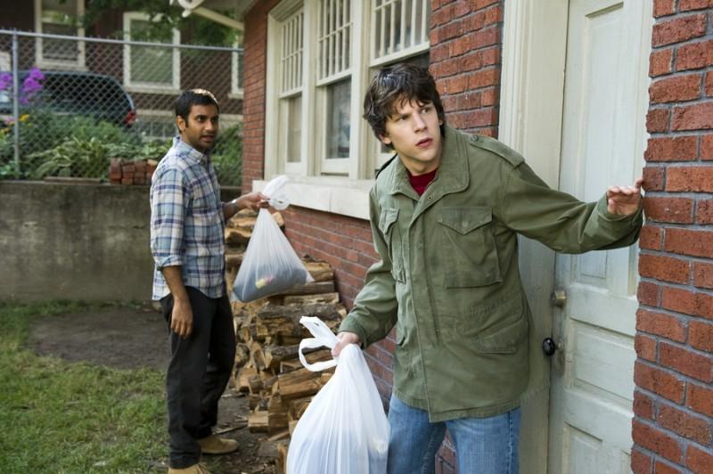 Jesse Eisenberg E Aziz Ansari In 30 Minutes Or Less 200520