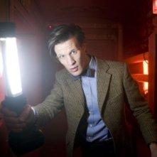 Matt Smith nell'episodio The Impossible Astronaut di Doctor Who