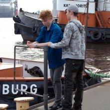 Moritz Glaser e Lukas Mrowietz sono i due protagonisti di Der Himmel hat vier Ecken
