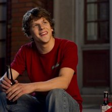 Un bel primo piano di Jesse Eisenberg in 30 Minutes or Less