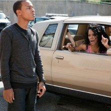 Byron (Bow Wow) e Sabrina (Teyana Taylor) nel film Madea's Big Happy Family