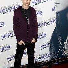 Justin Bieber presenta Never Say Never a Parigi.