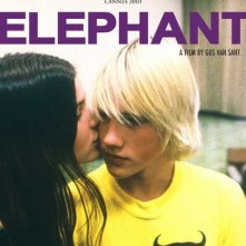 Locandina internazionale di Elephant di Gus Van Sant