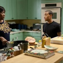 Shirley (Loretta Devine) and Byron (Bow Wow) in Madea's Big Happy Family