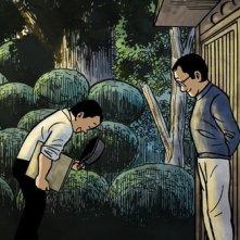 Un'immagine del film d'animazione Tatsumi
