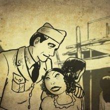 Una immagine tratta dal film d\'animazione Tatsumi