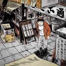 Una sequenza del film d\'animazione Tatsumi (2011)