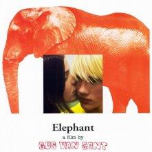 Uno dei manifesti realizzati per Elephant