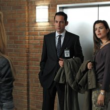 Ray (Enrique Murciano) e Ziva (Cote de Pablo) nell'episodio Two Faced di NCIS