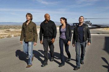 Una foto di squadra per l'episodio Rocket Man di NCIS: Los Angeles