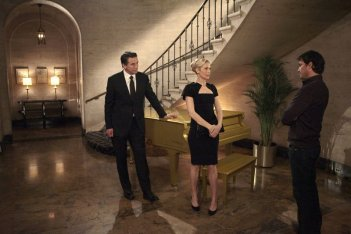 William Baldwin, Kelly Rutherford e Matthew Settle nell'episodio The Kids Stay in the Picture di Gossip Girl