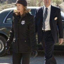 Marg Helgenberger e Marc Vann nell'episodio The List di CSI: Scena del crimine