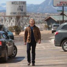 Chris Hemsworth in una sequenza del film Thor di K. Branagh