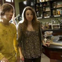 Jimmy Bennett e Kay Panabaker nell'episodio No Ordinary Future di No Ordinary Family