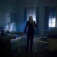 Karen Gillan in una scena dell'episodio Day Of The Moon di Doctor Who