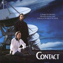 Locandina straniera di Contact, con Jodie Foster