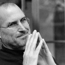Primo piano di Steve Jobs