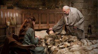 Un momento dell'episodio The Kingsroad di Game of Thrones