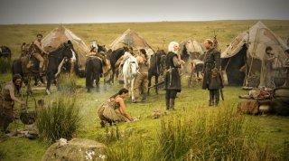 Una scena dell'episodio The Kingsroad di Game of Thrones