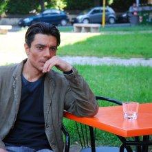 Giuseppe Zeno in una sequenza del dramma Il sesso aggiunto del 2011