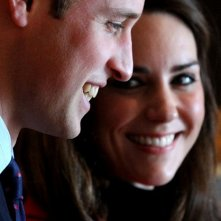 Il Principe William e Kate Middleton durante il periodo del loro fidanzamento