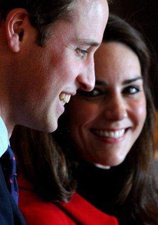 Il Principe William e Kate Middleton durante il periodo del loro fidanzamento