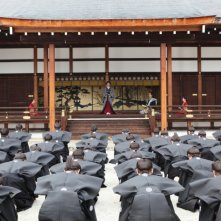 Una scena del film drammatico The Lady Shogun and Her Men