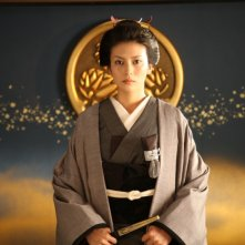 Una scena del film The Lady Shogun and Her Men