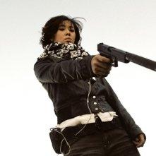 Zhang Li nel film Wind Blast
