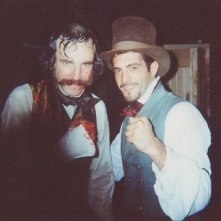 Daniel Day Lewis e Mauro Aversano sul set di Gangs of New York