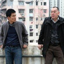 Richie Ren ed Anthony Wong in una scena del film Punished