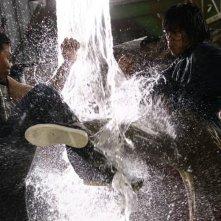 Una scena del film d'azione Bangkok Knockout