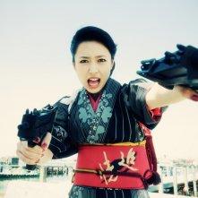 Una scena del film d'azione Yakuza Weapon di Tak Sakaguchi