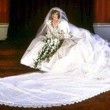 La Principessa Diana in abito da sposa