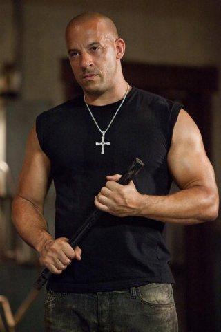 Vin Diesel in una scena di Fast & Furious 5