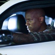 Tyrese Gibson in una scena di Fast & Furious 5 (Fast Five)