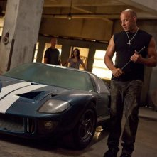 Vin Diesel in una scena dell'action Fast & Furious 5