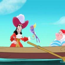 Capitan Uncino e Spugna nella serie animata Jake e i Pirati dell'Isola che non c'è