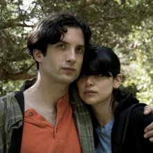 Diego Noguera con Nathalia Galgani in una scena del film Bonsái di C. Jiménez (2011)
